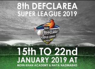 8th DEFCLAREA SUPER LEAGUE 2019