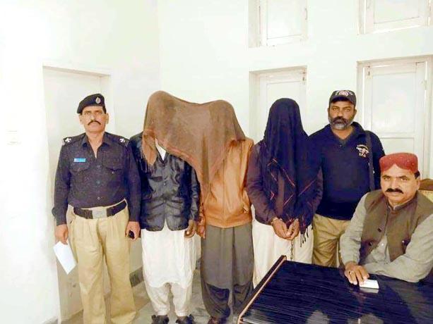 بھٹ شاہ، پولیس کارروائیوں میں پکڑے گئے ملزمان پولیس کی حراست میں ہیں