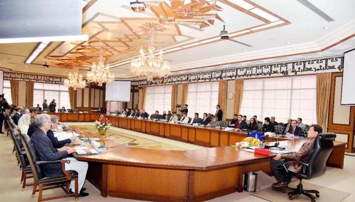 اسلام آباد:وزیراعظم عمران خان کی زیر صدارت وفاقی کابینہ کا اجلاس ہو رہا ہے