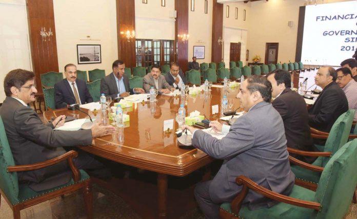 کراچی، وزیر اعلیٰ سندھ مراد علی شاہ پلاننگ، ڈیولپمنٹ اینڈ فنانس ڈیپارٹمنٹ کے اجلاس کی صدارت کررہے ہیں