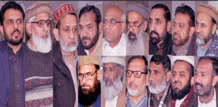راولپنڈی، جماعت اسلامی کے شعبہ تعلقات عامہ کے اجلاس سے امیر سٹی ڈسٹرکٹ سید عارف شیرازی، عزیر حامد ،ضیا اللہ چوہان اورحاجی نصیرمغل خطاب کررہے ہیں