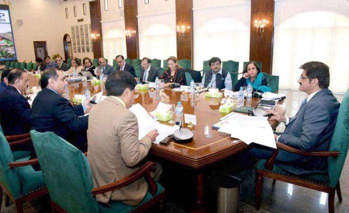 کراچی :وزیراعلیٰ سندھ مراد علی شاہ پاپولیشن ٹاسک فورس کے اجلاس کی صدرات کررہے ہیں