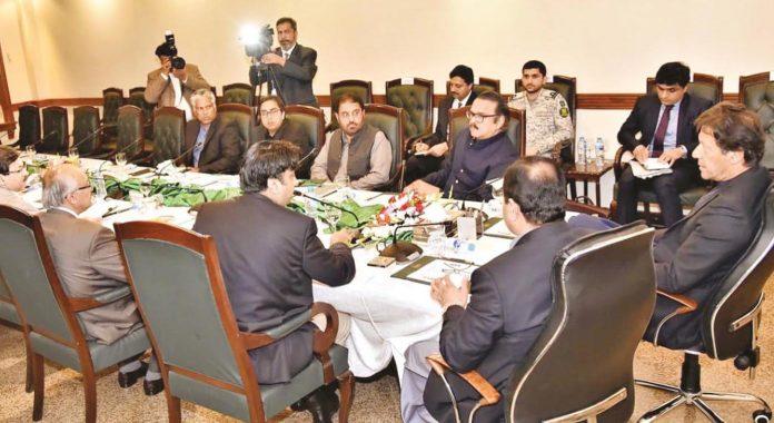 لاہور:وزیر اعظم عمران خان پنجاب حکومت کی جانب سے کارکردگی اجلاس کی صدارت کررہے ہیں