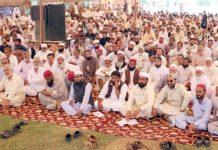 قائم مقام امیر جماعت اسلامی پاکستان لیاقت بلوچ ہالا میں جماعت اسلامی سندھ کی تربیت گاہ کے شرکا سے خطاب کررہے ہیں