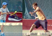لاہور: شہریار ملک ٹینس چیمپئن شپ میں شریک کھلاڑی ایکشن میں نظرآرہے ہیں