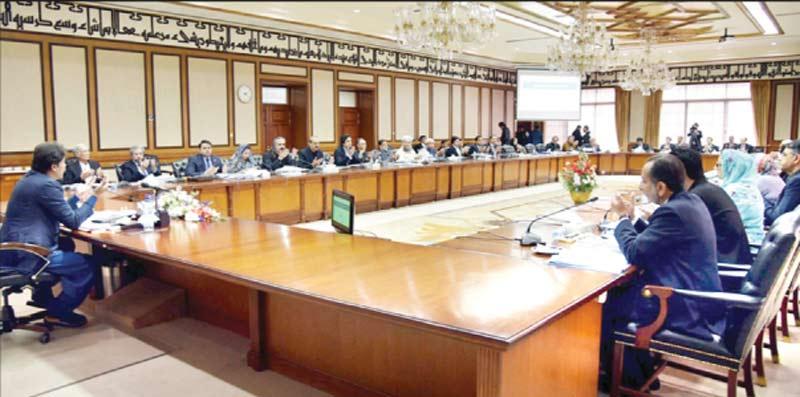 سلام آباد وزیراعظم عمران خان کابینہ اجلاس کی صدارت کررہے ہیں
