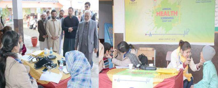 اسلام آباد ،الخدمت فاؤنڈیشن کے شعبہ کفالت یتامیٰ کے زیراہتمام یتیم بچوں کا میڈیکل چیک اپ کیا جارہا ہے،حامد اطہرملک مہمانوں کے ساتھ کیمپ کادورہ کررہے ہیں