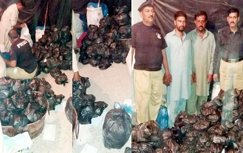 پشاور: الخدمت مشال میڈیکل کمپلیکس مردان میں مفت طبی کیمپ میں ڈاکٹر مریضوں کا معائنہ کررہے ہیں، دوسری جانب ادویات دی جارہی ہیں