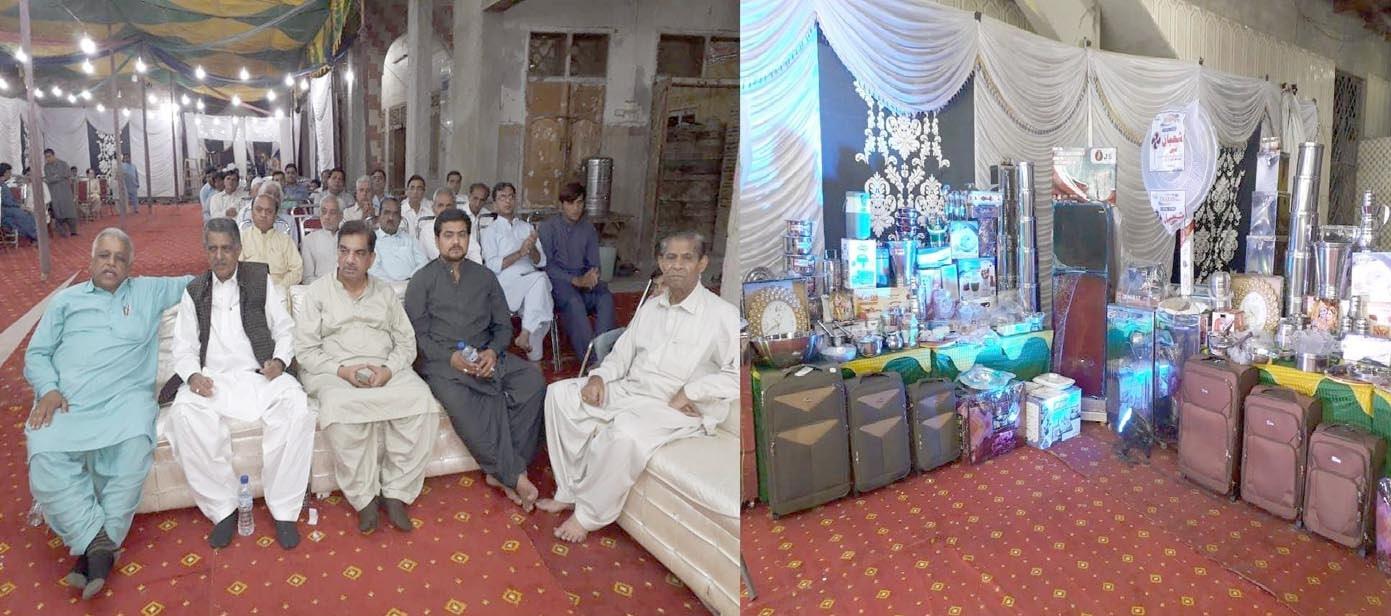 جیکب آباد،ہرے کرشنا ویلفیئر کی جانب سے 5 غریب جوڑوں کی اجتماعی شادی کی تقریب
