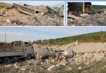 ادلب: بشارالاسد کے حلیف روس کی بم باری کا نشانہ بننے والی عمارتیں ملبے کا ڈھیر بن گئیں