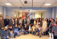 گوٹنگن: پیپلز پارٹی کی تنظیم نو سے متعلق تقریب کے شرکا کا گروپ فوٹو