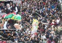 مقبوضہ بیت المقدس: قابض اسرائیلی فوج کی فائرنگ سے شہید ہونے والے فلسطینی کے جنازے میں ہزاروں افراد شریک ہیں' اہل خانہ غم سے نڈھال ہیں