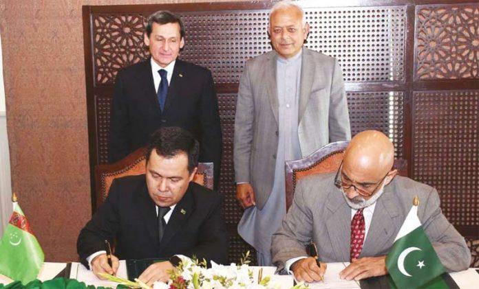 پاکستان ترکمانستان نے تاپی گیس لائن معاہدے پر دستخط کردیئے