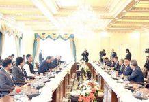 اسلام آباد:پاکستان اور ملائیشیا کے وزرائے وفود کی سطح پر مذاکرات کررہے ہیں