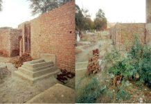 شہداد پور،قدیمی قبرستان عاشق شاہ بخاری پر قبضہ مافیا نے عمارتیں تعمیر شروع کردی ہیں