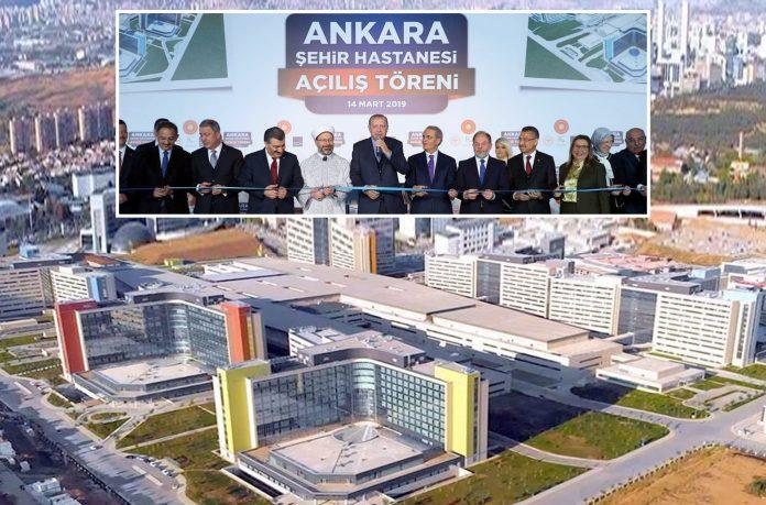 انقرہ: صدر رجب طیب اردوان یورپ کے سب سے بڑے اسپتال کا افتتاح کررہے ہیں