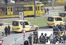ہالینڈ: ہلاکت خیز فائرنگ کے بعد ٹرام اور اردگرد کا علاقہ سیل کردیا گیا ہے' پولیس کمانڈوز بھی تعینات ہیں