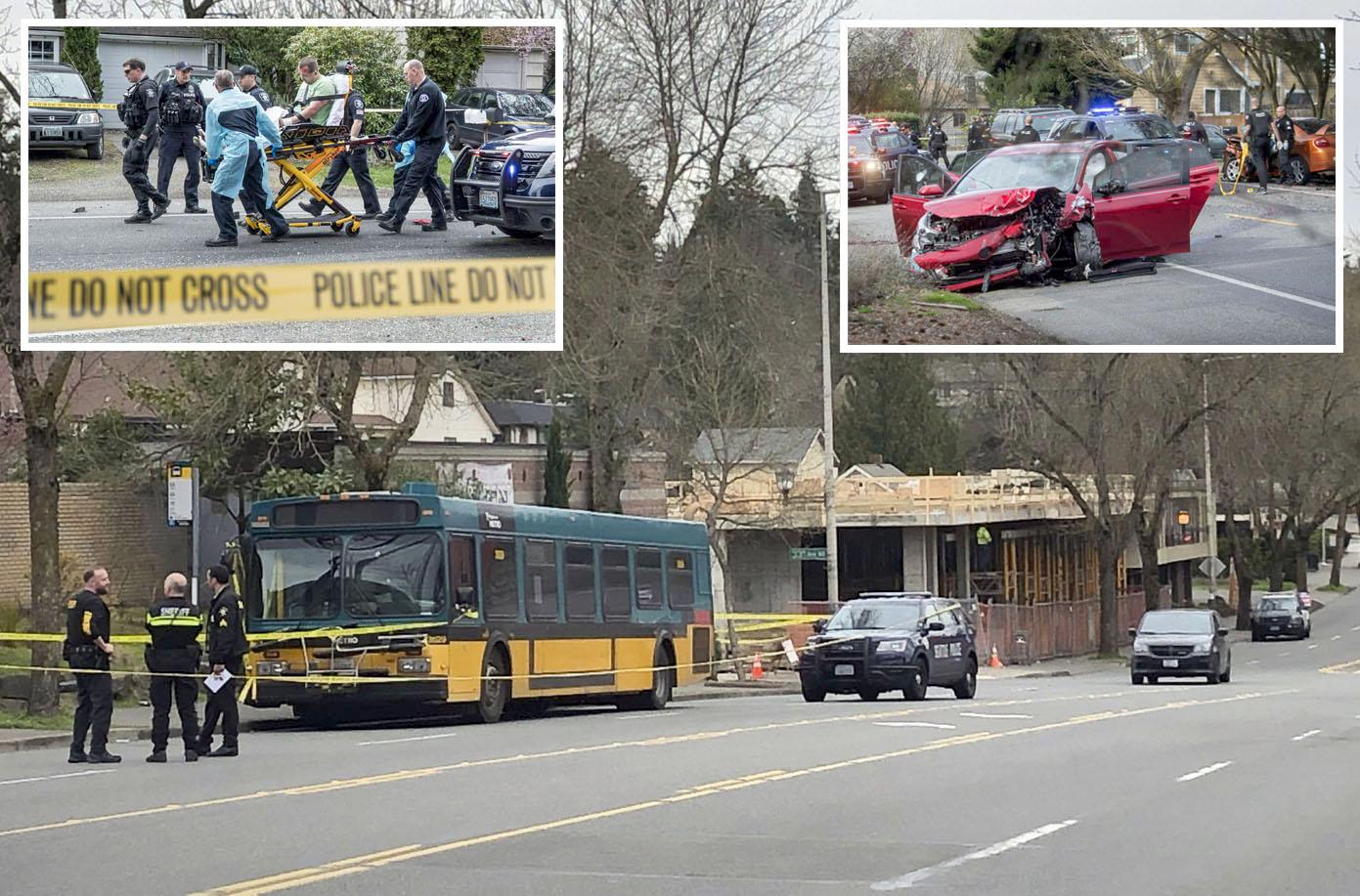 سیاٹل: ہلاکت خیز فائرنگ کے بعد پولیس نے جائے وقوع کو سیل کردیا ہے' زخمی کو اسپتال منتقل کیا جارہا ہے