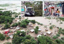موزمبیق/ زمبابوے: طوفان کے باعث وسیع علاقہ زیرآب آگیا ہے' تیزہواؤں سے بھی املاک کو شدید نقصان پہنچا ہےموزمبیق/ زمبابوے: طوفان کے باعث وسیع علاقہ زیرآب آگیا ہے' تیزہواؤں سے بھی املاک کو شدید نقصان پہنچا ہے