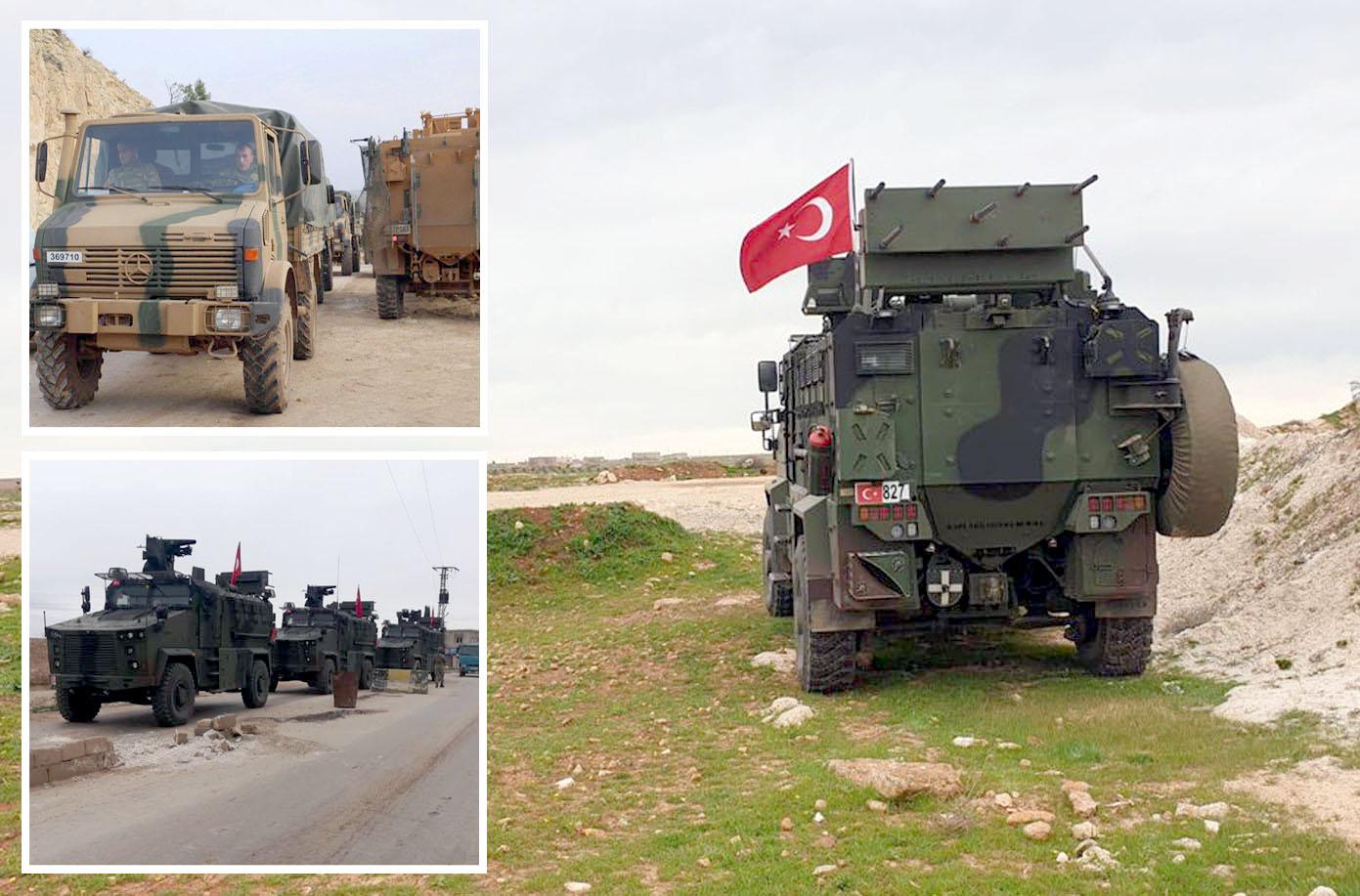 شام: ترکی اور روس کی افواج شمال مغربی صوبے ادلب کے قصبے تل رفعت میں مشترکہ گشت کررہی ہیں