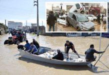ایران: سیلاب میں پھنسے شہریوں کو نکالا جارہا ہے' پانی میں بہ کر آنے والی گاڑیوں کا ڈھیر لگ گیا ہے