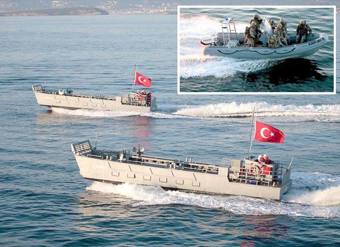 ترکی: فوج ملکی تاریخ کی سب سے بڑی مشقیں بلیو نیشن 2019ء میں اپنی جنگی صلاحیتوں کا مظاہرہ کررہی ہے