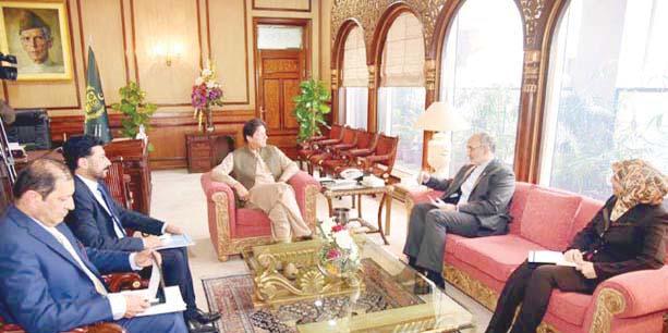 اسلام آباد:وزیراعظم عمران خان سے ایرانی سفیر مہدی ہنر دوست ملاقات کررہے ہیں