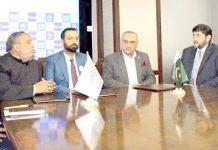 بینک اسلامی، بی آئی پی ایل سیکورٹیز ،کفایت انوسٹمنٹ کے مابین مفاہمت کی یادداشت پر دستخط کیے جارہے ہیں