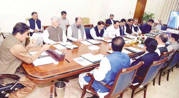 اسلام آباد: وزیراعظم عمران خان کی زیرصدارت موسمیاتی تبدیلی کے مسائل سے متعلق اجلاس ہورہا ہے