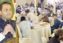 یوم تاسیس تقریب سے مرتضیٰ وہاب،حافظ نعیم،ڈاکٹر واسع شاکر،اطہر ہاشمی ،عبدالرشید ،فاروق ستار ،فردوس شمیم نقوی ودیگر خطاب کررہے ہیں