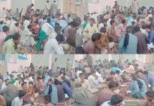 ٹنڈو الہٰیار : متحدہ اتحاد عباسیہ انٹرنیشنل کی جانب سے لوگوں کو افطار کروائی جارہی ہے