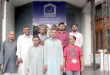 الخدمت کی کوشش سے رہائی پانے والے قیدیوں کا ذمے داران کے ساتھ گروپ فوٹو