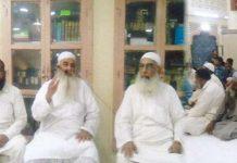 مولانا عبدالرحمن سلفی برنس روڈ میں افطار ڈنر سے خطاب کر رہے ہیں