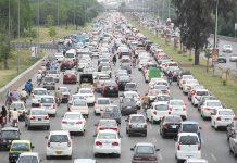 اسلام آباد ،ہائی وے پر بدترین ٹریفک جام کا منظر
