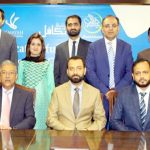 بینک اسلامی اور ای ایف یو لائف انشورنس کے مابین معاہدے کے موقع پر لیا گیا گروپ فوٹو