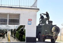 تاجکستان: انسدادِ ہنگامہ فوج جیل میں بلوے کے باعث کارروائی کررہی ہے