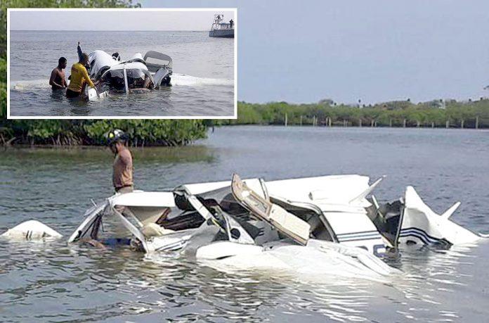 ہونڈراس: دریا میں گرنے والا طیارہ تباہ ہوگیا ہے' امدادی کارکن کارروائی کررہے ہیں