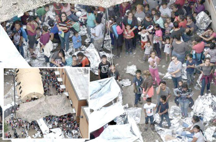 ٹیکساس: میک ایلن کے حراستی مرکز میں تارکین وطن کسمپرسی کی زندگی گزار رہے ہیں