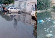 نیو کراچی سیکٹر 5-E یوسی 7 کے چیئرمین عتیق خان کی نااہلی ہر گلی میں سیوریج کا پانی جمع ہے