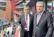مانچسٹر: ورلڈ کپ ،پاک بھارت میچ کی تصویری جھلکیاں