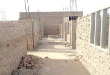 جیکب آباد ،گورنمنٹ اسکول کی تعمیر ڈیڑھ سال سے التوا کاشکار ہے