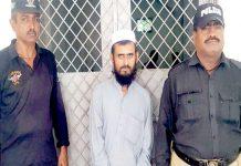 میرپورخاص،ماڈل کورٹ سے قتل کا الزام ثابت ہونے پر عمر قید کی سزا پانے والا ملزم پولیس کی حراست میں
