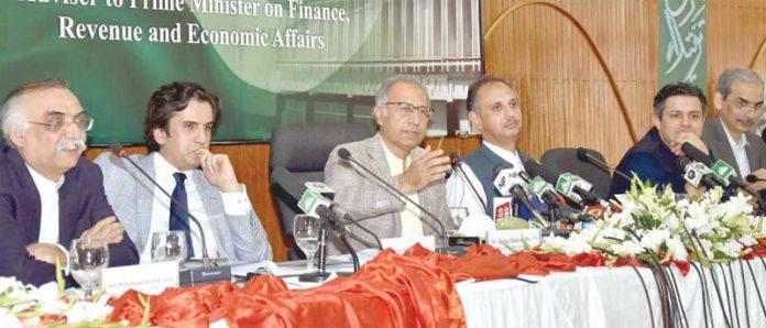 اسلام آباد: مشیر خزانہ ڈاکٹر حفیظ شیخ بجٹ تفصیلات سے میڈیا کو آگاہ کررہے ہیں