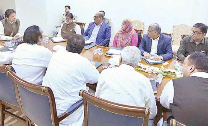 اسلام آباد: وزیراعظم عمران سے خان حیدرآباد، لاڑکانہ، سکھر اور میر پور خاص کے ارکان اسمبلی ملاقات کررہے ہیں