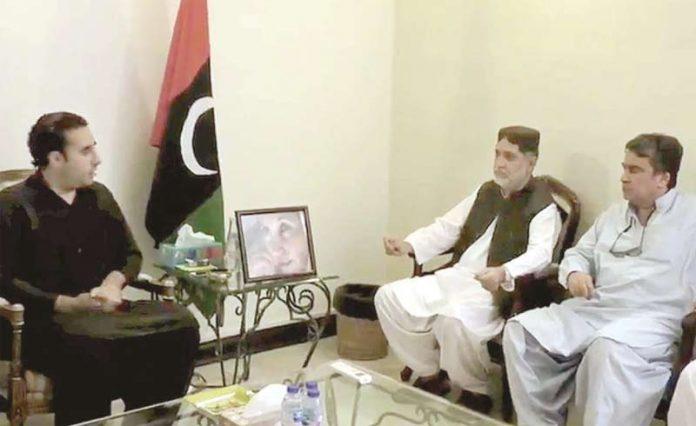 اسلام آباد: چیئرمین پیپلزپارٹی بلاول زرداری سے سردار اختر مینگل ملاقات کررہے ہیں