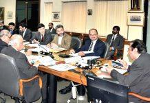 اسلام آباد: چیئرمین نیب جسٹس (ر) جاوید اقبال ماہانہ جائزہ اجلاس کی صدارت کررہے ہیں