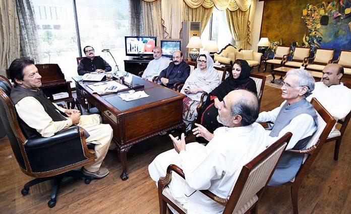 اسلام آباد: وزیراعظم عمران خان سے بلوچستان،خیبر پختونخوا سے تعلق رکھنے والے عوامی نمائندے ملاقات کررہے ہیں