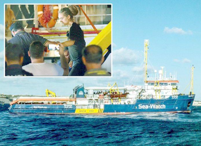 روم: سی واچ کا امدادی جہاز اطالوی بندرگاہ پر لنگر انداز ہے' بغیر اجازت آمد پر خاتون کپتان کو گرفتار کیا جارہا ہے