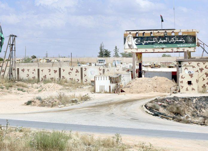 طرابلس: شکست کھا کر مغربی حصے سے فرار ہونے والی حفتر ملیشیا کا ہیڈکوارٹر سنسان پڑا ہے