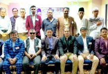 کوالالمپور: ورلڈ تھرو بال فیڈریشن کے انتخابات میں منتخب ہونے والے عہدیداروں کا گروپ فوٹو